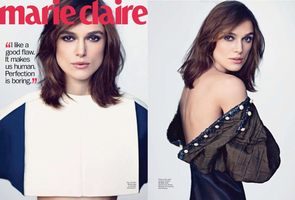 Keira Knightley on Marie Claire USA 1