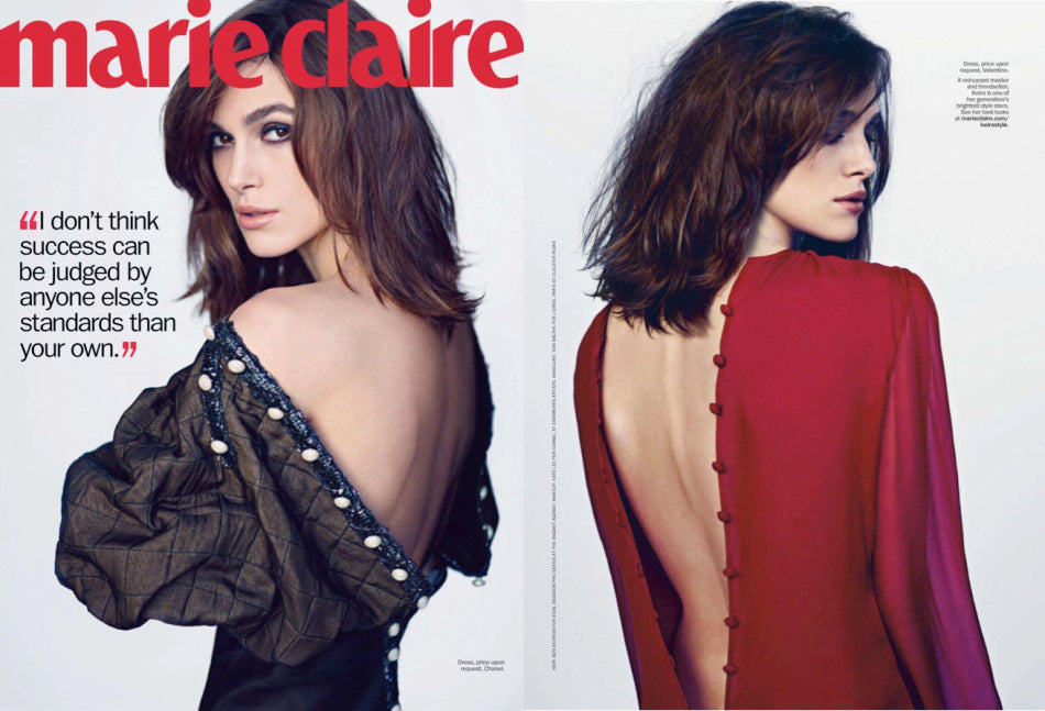 Keira Knightley on Marie Claire USA 2