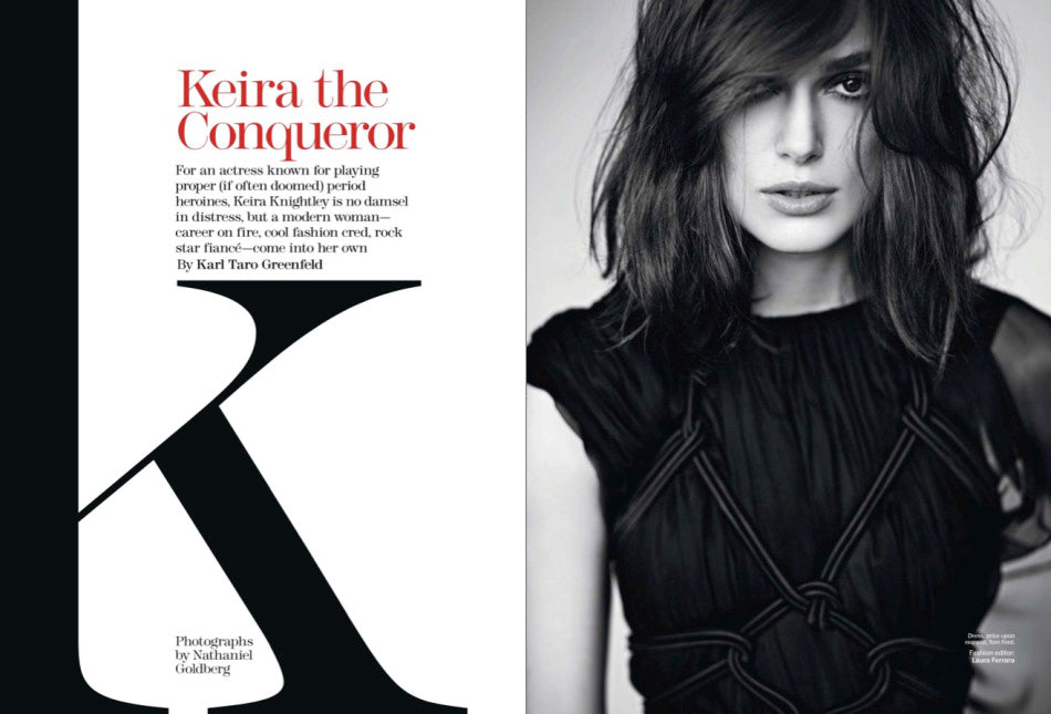 Keira Knightley on Marie Claire USA 3