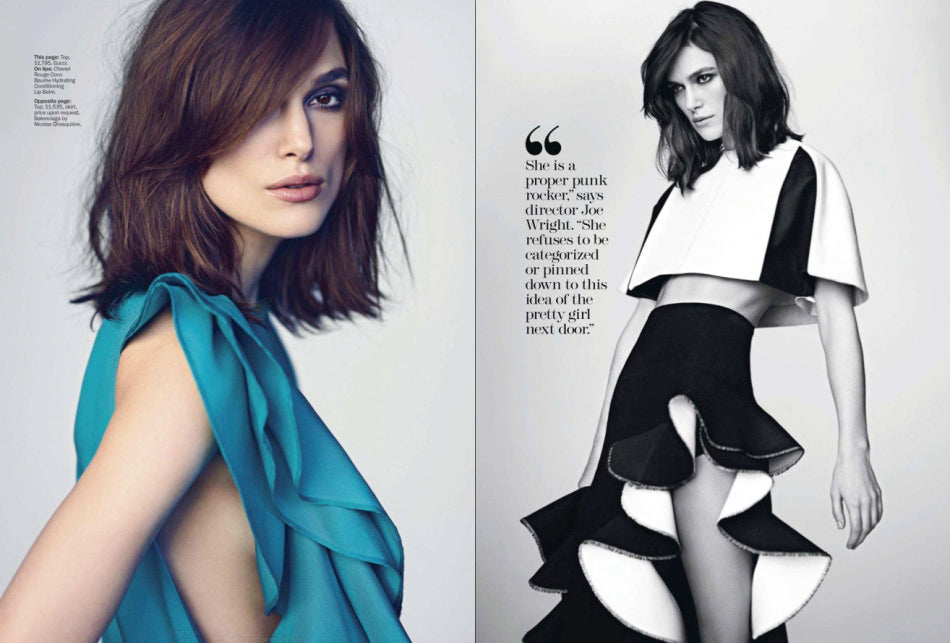 Keira Knightley on Marie Claire USA 4