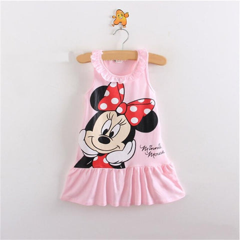 Minnie Mouse Sleeveless Dress
