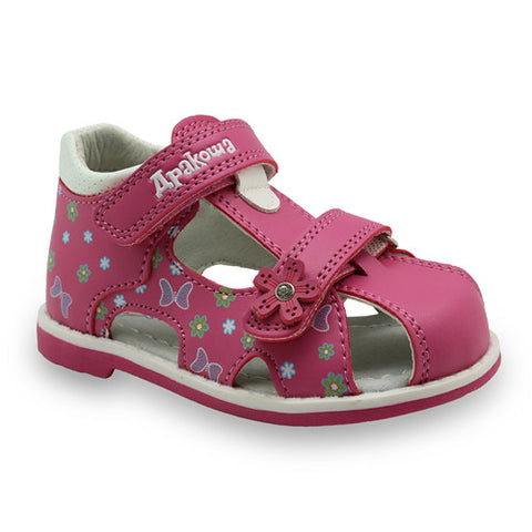 Kids Leather Sandals with Arch Support