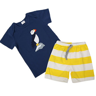 Kids Travel T-shirt x Shorts Set