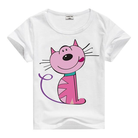 Kids Animal Print T-shirt
