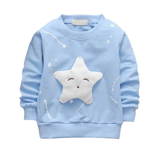 Kids Star Pattern Sweatshirt