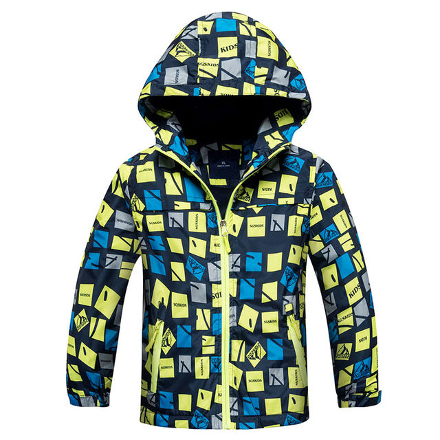 Kids Waterproof Jacket