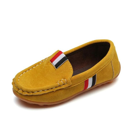 Kids Leather Loafers