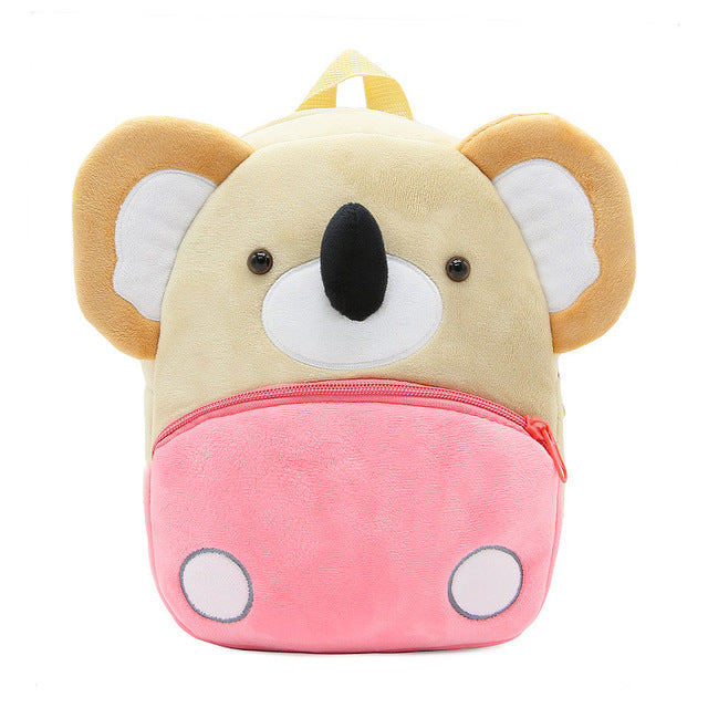 Cartoon Plush Backpack