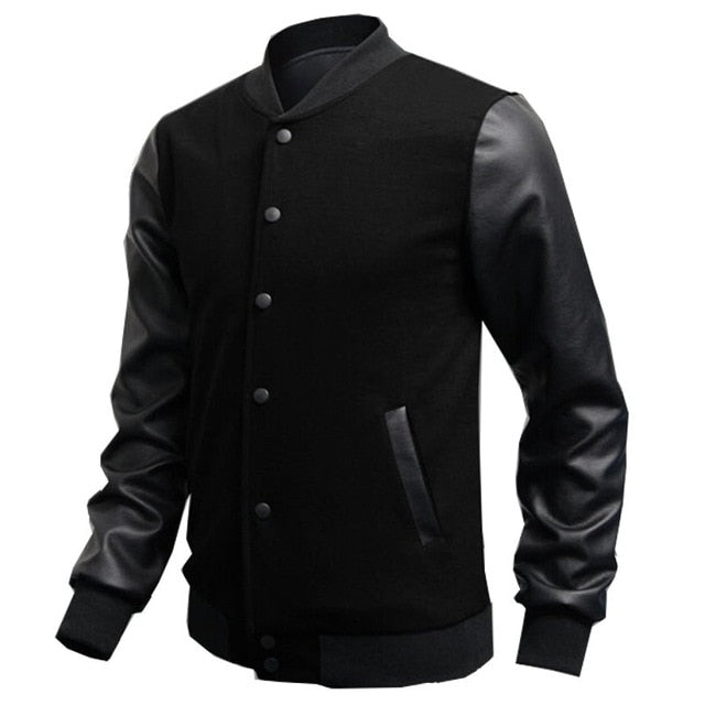 Mens Autumn Slim Outwear Jacket