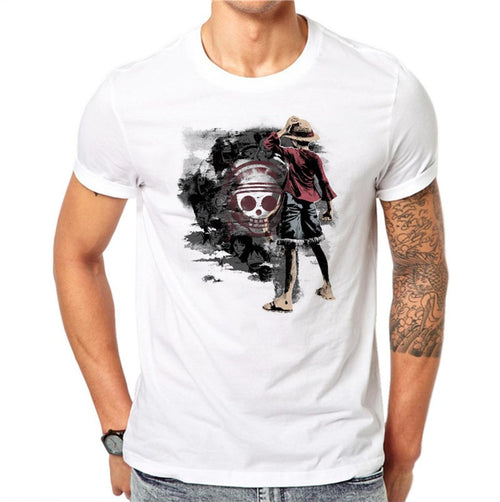 100% Cotton One Piece Men T-shirt