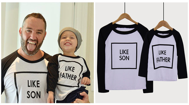 Father x Son Matching Sets