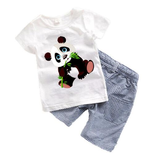 Mickey Mouse T-shirt x Shorts Set