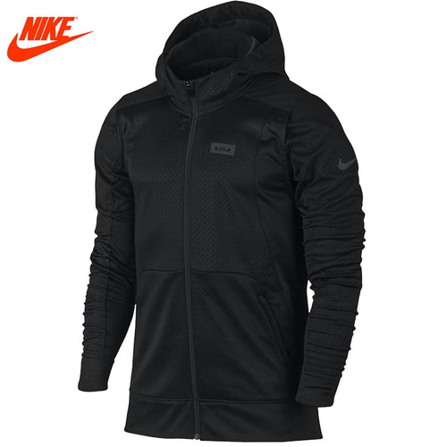 Authentic Nike men's LeBron James sports windproof hooded Black jacket