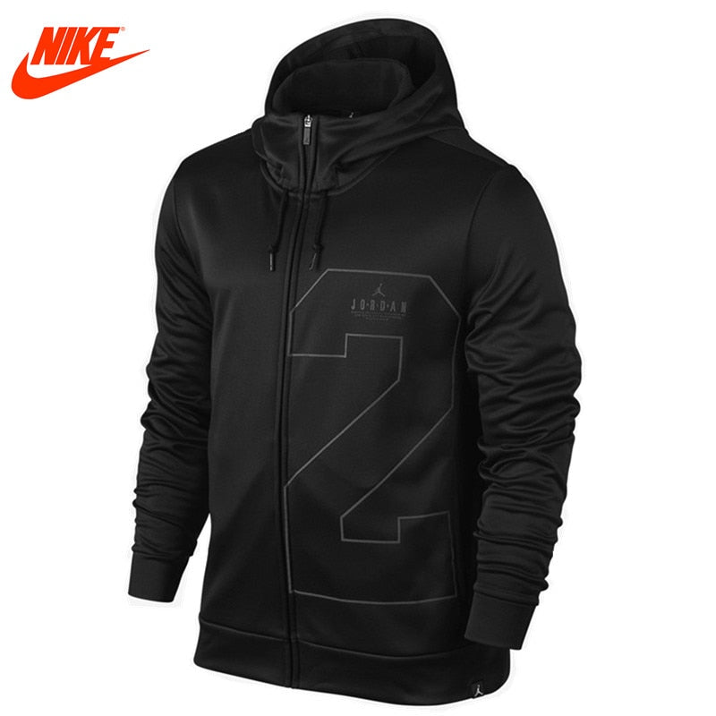 Original New Arrival Official Nike Men's Spring New Air Jordan Basketball Training Hooded Warm Windproof Jacket