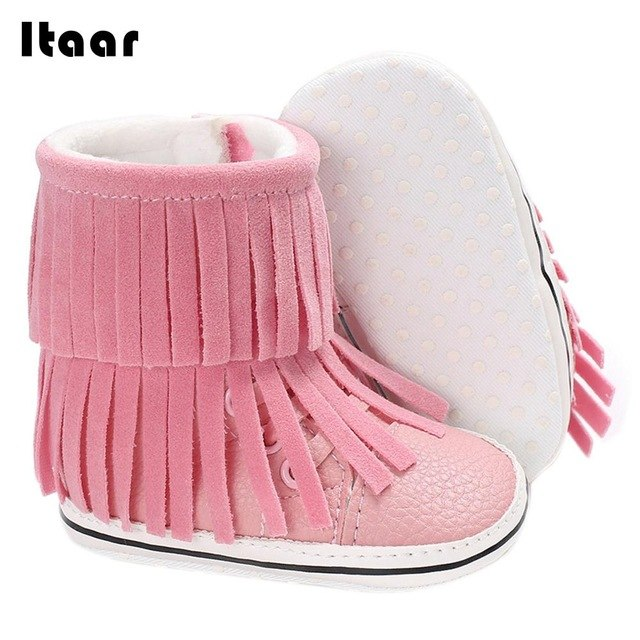 Snow Boots Baby Footwear Newborn Toddler 4 Color Comfortable