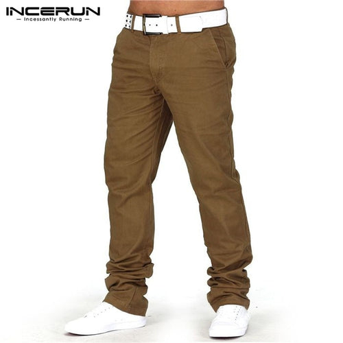 Autumn Cotton Men Causal Trousers