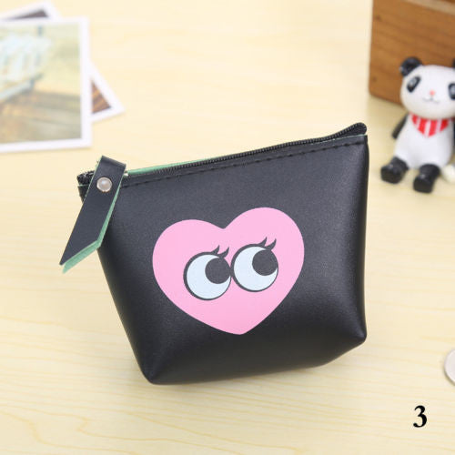 Lovely Women Girls Mini Coin Bag Leather Small Purse Handbags
