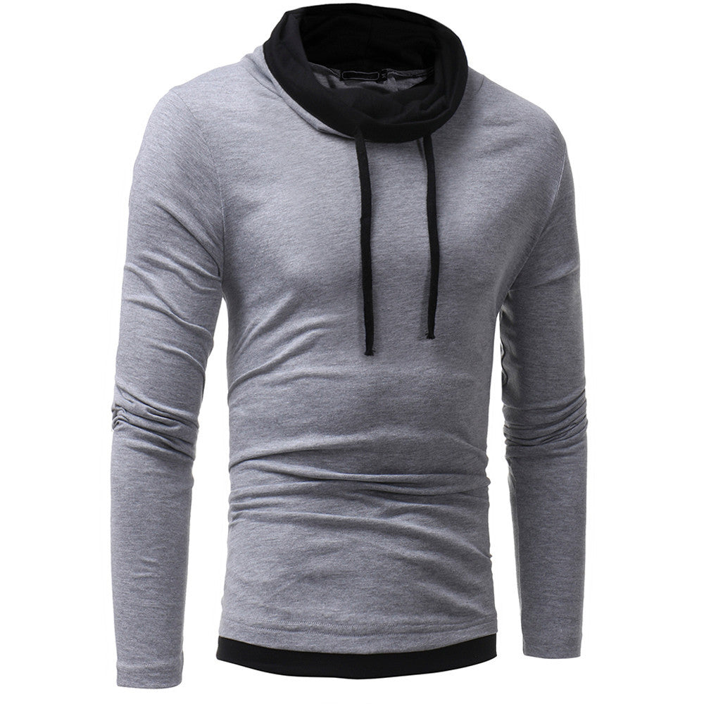Men's Autumn Winter Long Sleeve  Hoodie Hooded Sweatshirt Tops Blouse