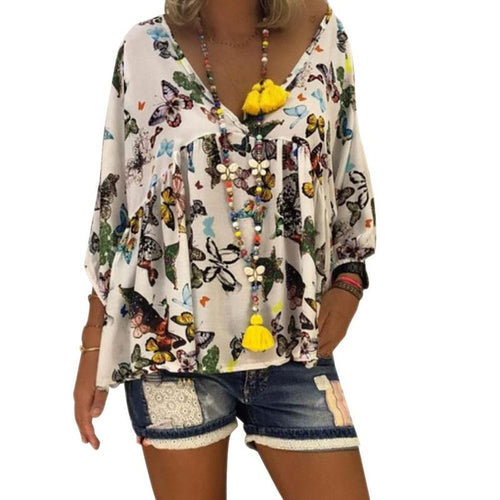 V neck Women Tops and Blouse