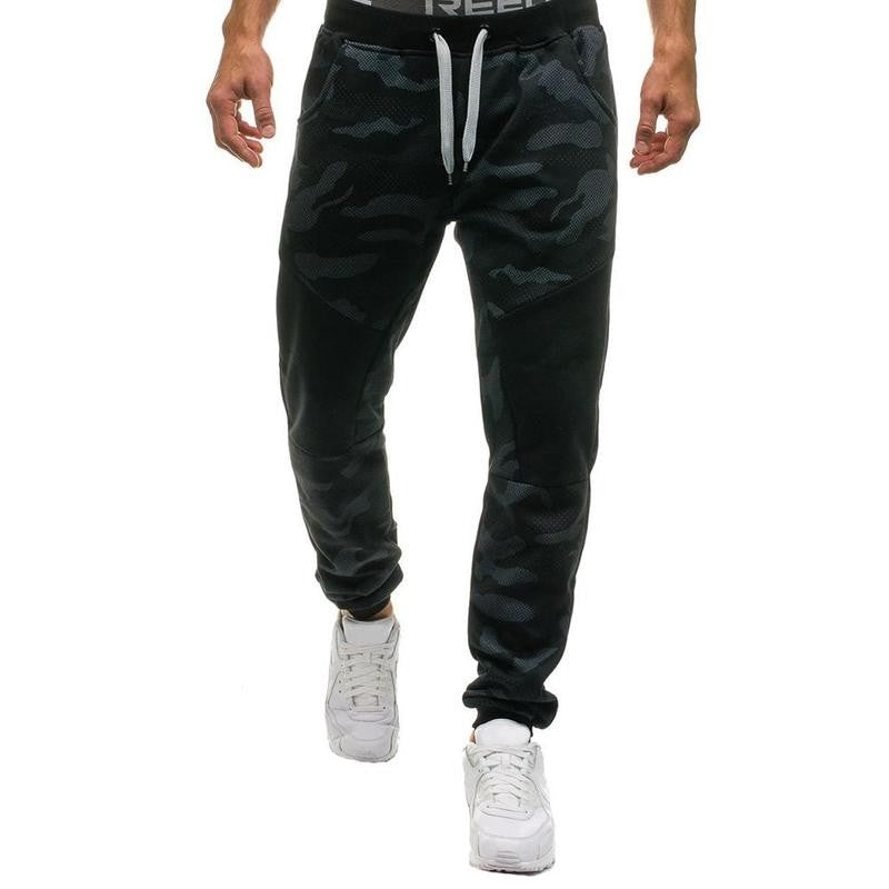 Mens Camouflage Long Pants