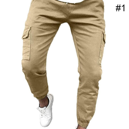 Men Trousers Pants Thin Casual