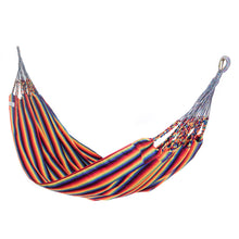 Load image into Gallery viewer, Two Person Hammock - Pride Rainbow Main Image