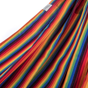 Two Person Hammock - Pride Rainbow Fabric Image