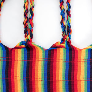 Two Person Hammock - Pride Rainbow Plaits Image