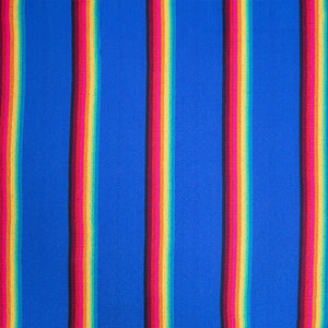 Two Person Hammock - Blue Rainbow Pattern Image