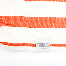 Load image into Gallery viewer, Cotton Family Sized Hammock - Brown And Orange Label Image
