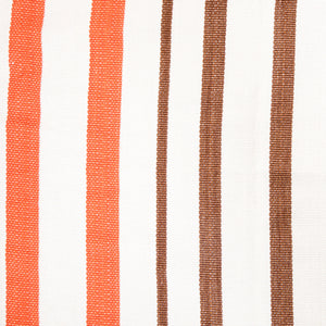 Cotton Family Sized Hammock - Brown And Orange Pattern Image