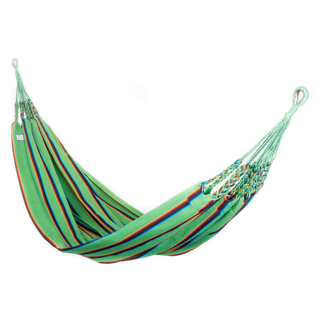 Two Person Hammock - Light Green Rainbow Main Image