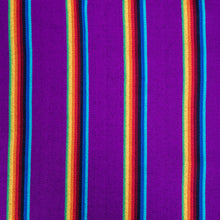 Load image into Gallery viewer, Two Person Hammock - Purple Rainbow Pattern Image