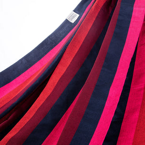 Two Person Hammock - Red Tones Fabric Image