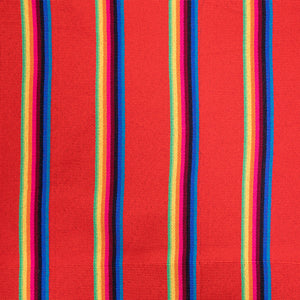Two Person Hammock - Red Rainbow Pattern Image