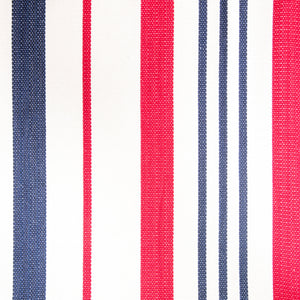 Cotton Two Person Hammock - Red White And Blue Pattern Image