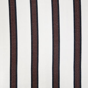 Two Person Hammock - White With Brown Stripes Pattern Image