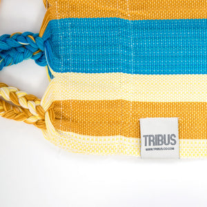 Cotton Two Person Hammock - Red Yellow And Blue Label Image