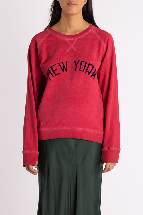 New York Sweat - Washed Red