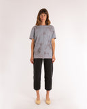 Grey Boyfriend Tie Dye T-Shirt