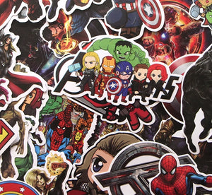 30 Pcs Superheroes Sticker
