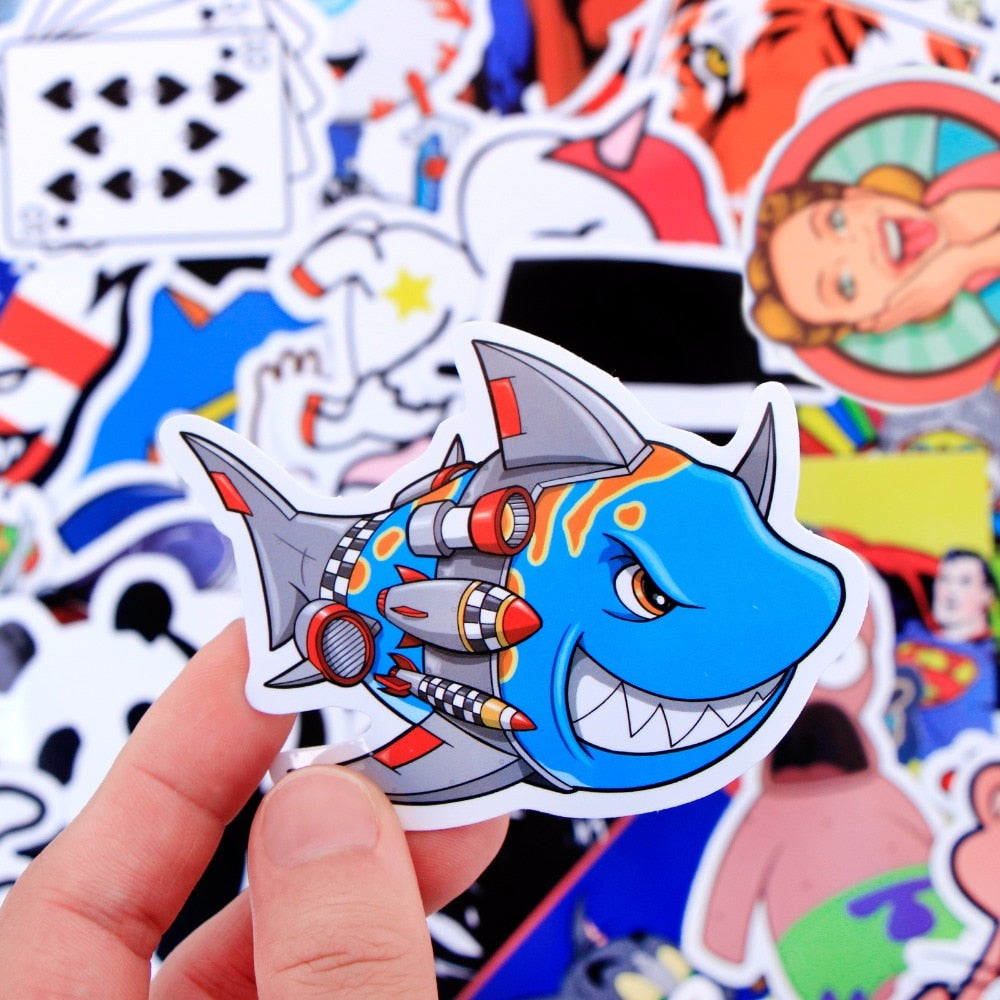 Random 500 PCS Sticker