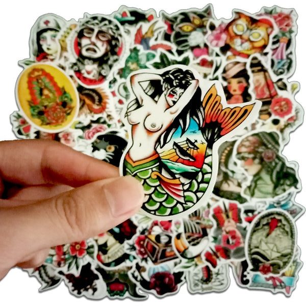 50 Pcs tattoo designs Stickers