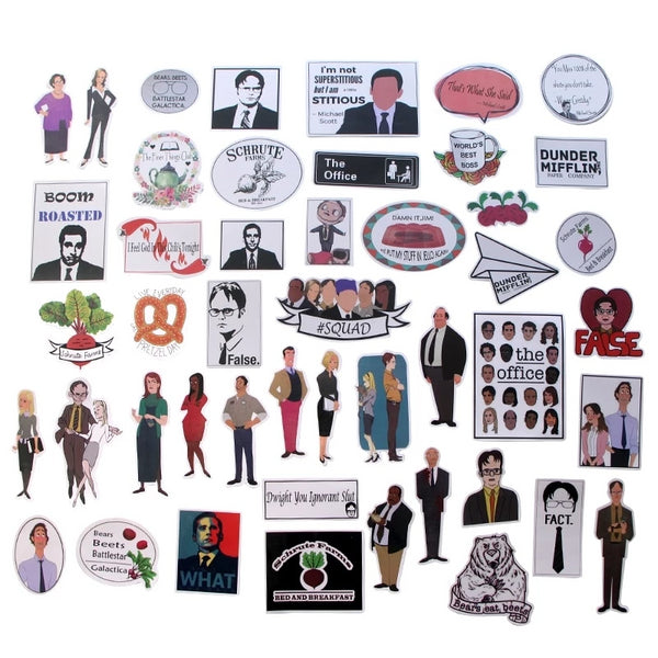 46 Pcs The office Tv Show Sticker