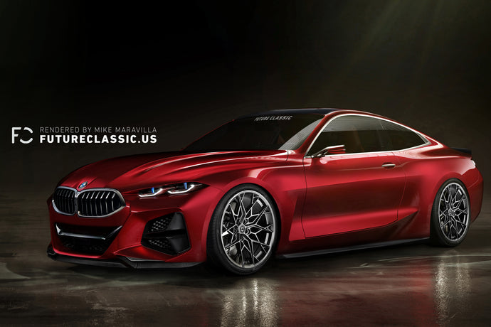 BMW Concept 4 Reimagined