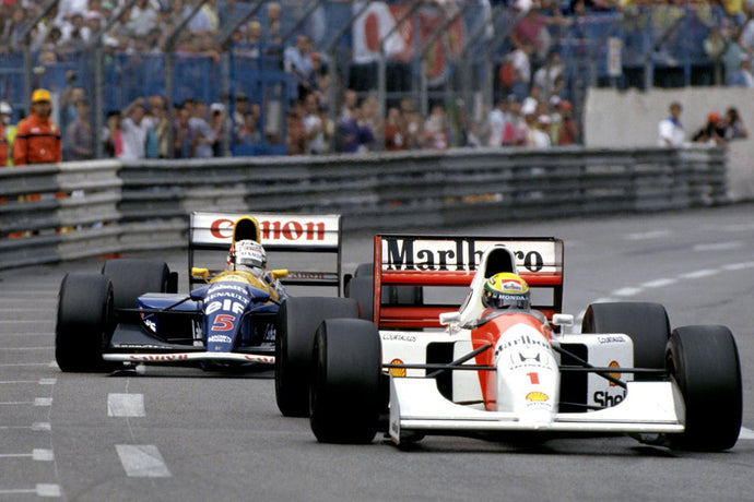 A Nail-Biter for the Ages: Mansell vs Senna - Monaco 1992
