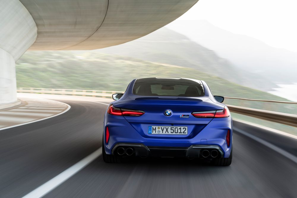 2020 BMW M8 Competition - Rear View