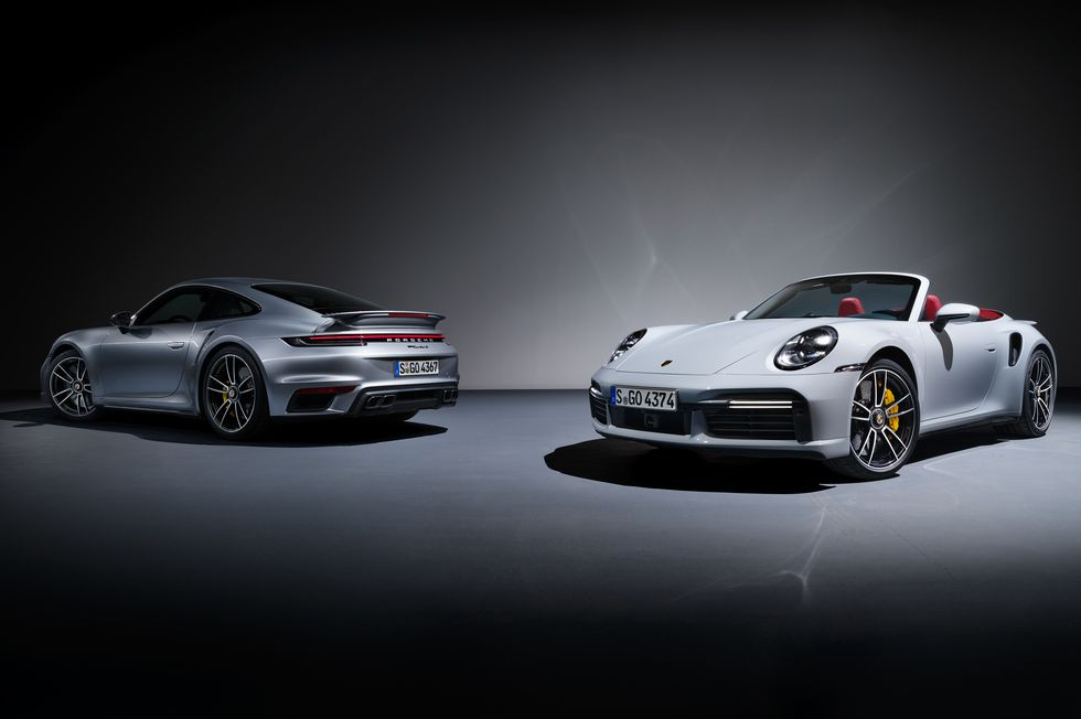 2021 Porsche 992 Turbo S Launch