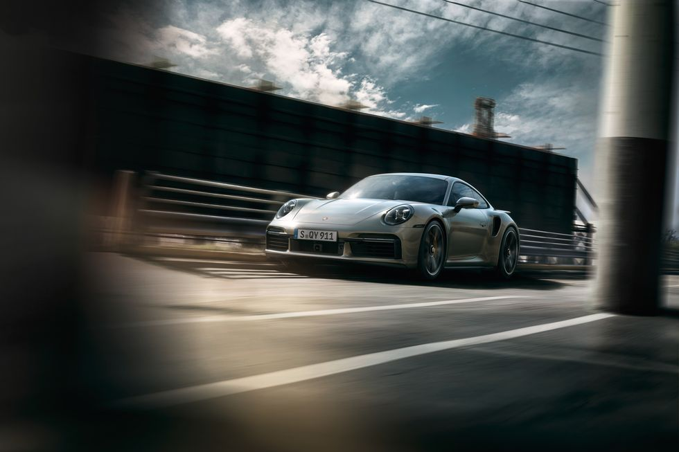 2021 Porsche 992 Turbo S Driving