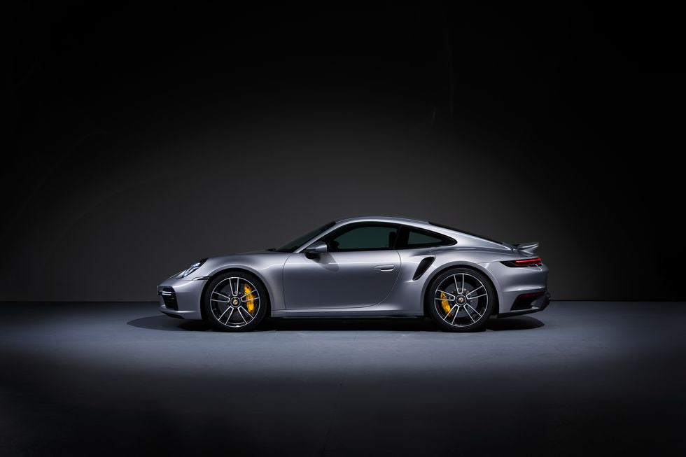 2021 Porsche 992 Turbo S Side Profile